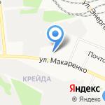 Антарес на карте Белгорода
