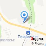 Белгородрыба на карте Белгорода