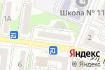 Схема проезда до компании УК Проект Групп в Белгороде