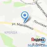 Жасмин на карте Белгорода