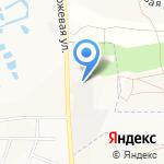 Гидравлика Белогорья на карте Белгорода