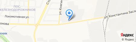 КАРТЕХ на карте Белгорода