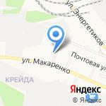 Средняя общеобразовательная школа №11 на карте Белгорода