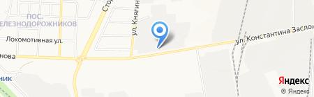 Коленвал на карте Белгорода