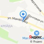 Центр временного содержания для несовершеннолетних правонарушителей на карте Белгорода