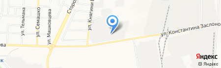 Жемикс на карте Белгорода