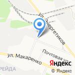 Дорстроймеханизация на карте Белгорода