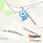Ларец на карте Белгорода