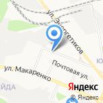 Натали на карте Белгорода