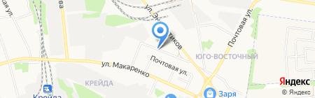Бир Маг на карте Белгорода