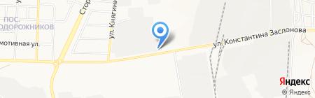 Белгородский региональный автотехцентр на карте Белгорода