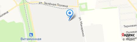 Белколор на карте Белгорода