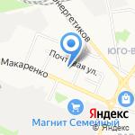 Детский сад №52 на карте Белгорода