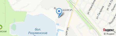 Газэнергосеть Белгород на карте Белгорода