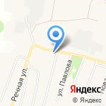 Инга на карте Белгорода