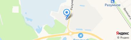 БелАвтоБизнес на карте Белгорода