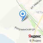 Спако-АгроСтройИнвест на карте Белгорода