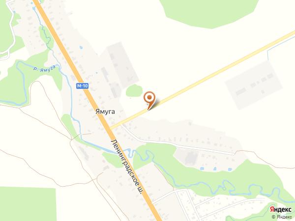 Остановка Ямуга центр (Московская область)