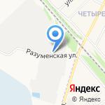 Блокмастер на карте Белгорода