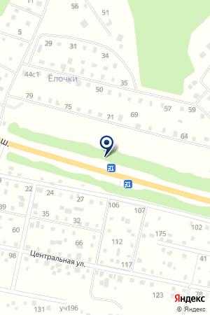 ЗАВОД ЖИРОВ на карте Волоколамска