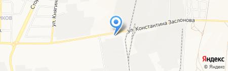 Паприка на карте Белгорода