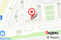 Схема проезда до компании Завхоз в Белгороде