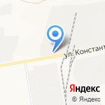 Белгородгеология на карте Белгорода