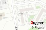 Схема проезда до компании AX Development в Белгороде