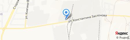 Промстальконструкция-центр на карте Белгорода