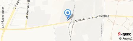 Чебуречная на ул. Константина Заслонова на карте Белгорода