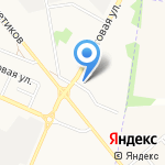 Ёрш на карте Белгорода