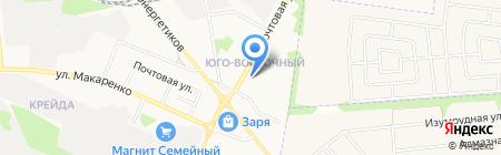 Урожай на карте Белгорода