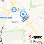 Комплимент на карте Белгорода