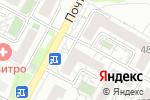 Схема проезда до компании Колор в Белгороде