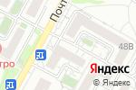 Схема проезда до компании Урожай в Белгороде