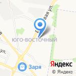 Оазис на карте Белгорода