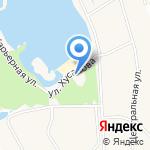 Островок на карте Белгорода