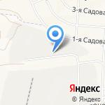 Фабрика бетона на карте Белгорода