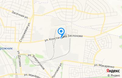 Местоположение на карте пункта техосмотра по адресу г Белгород, ул Константина Заслонова, д 92А