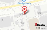 Схема проезда до компании Металлист в Белгороде