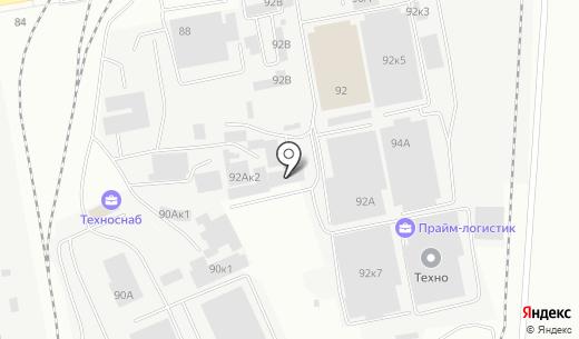 Аккорд-Артель. Схема проезда в Белгороде
