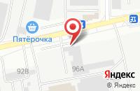 Схема проезда до компании Бел-Блок в Белгороде