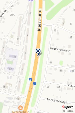 АЗС МОСКОЙЛ на карте Наро-Фоминска