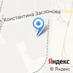 Возовоз на карте Белгорода