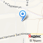Архстрой на карте Белгорода