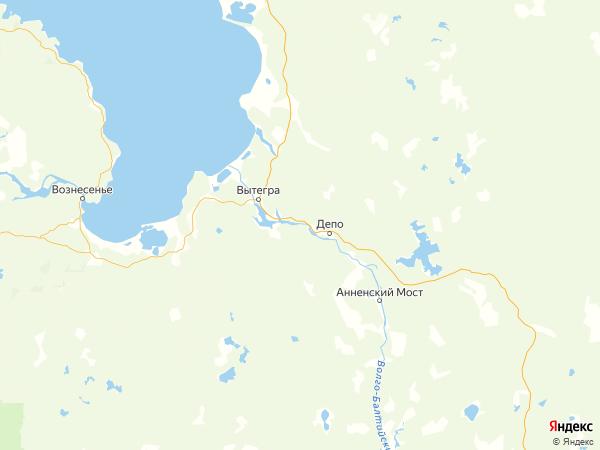 деревня Марково на карте