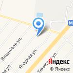 Магазин лакокрасочных материалов на карте Белгорода