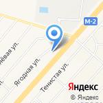 БелМТЗцентр на карте Белгорода