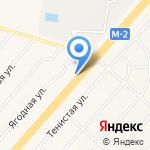 ТЭНК на карте Белгорода