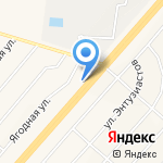 Алина на карте Белгорода